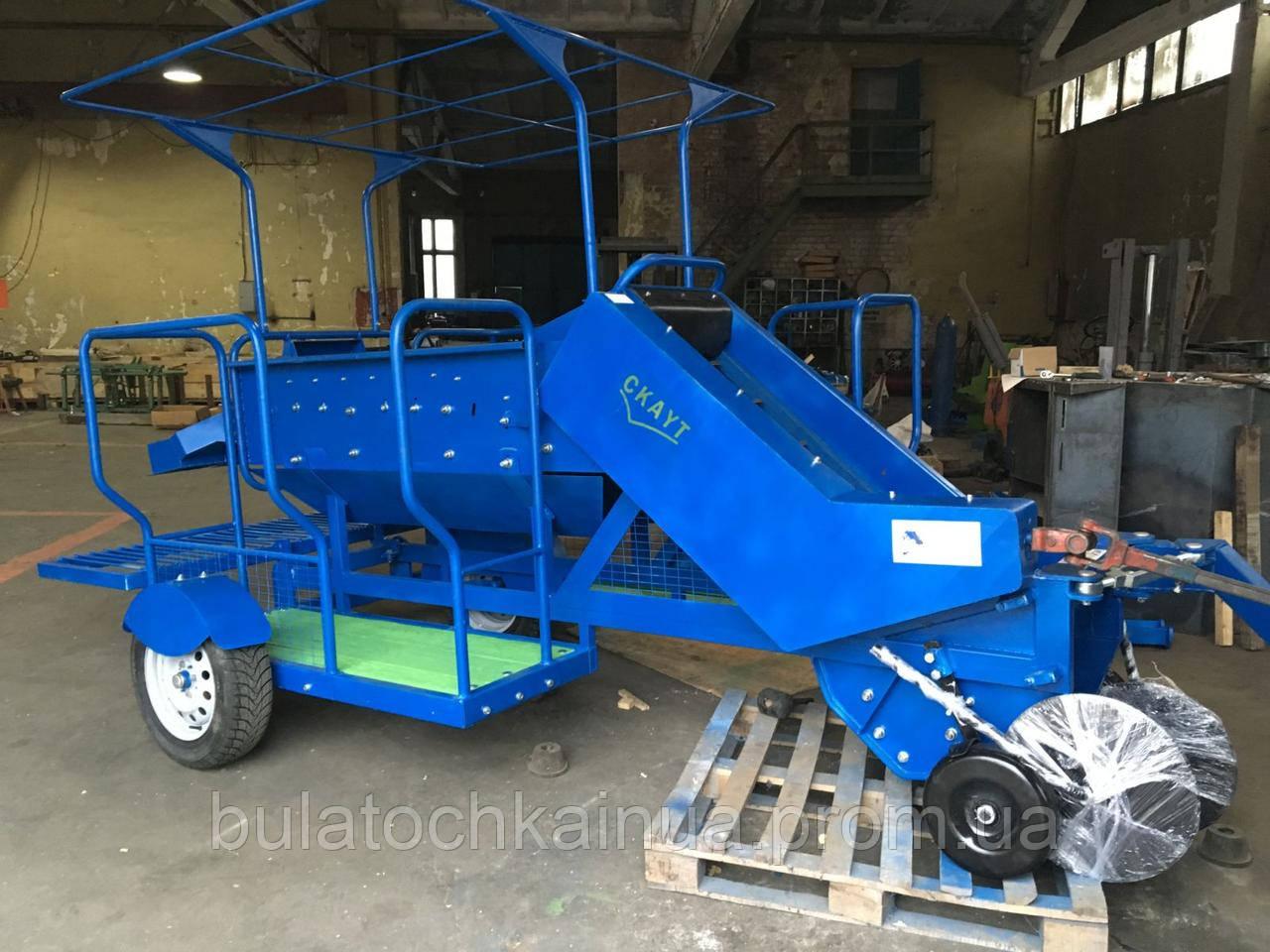 Картофелеуборочный комбайн А10 тракторный ТМ AGRIX (вес 400 кг)