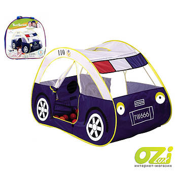 Детская палатка Полицейская машина 5008А