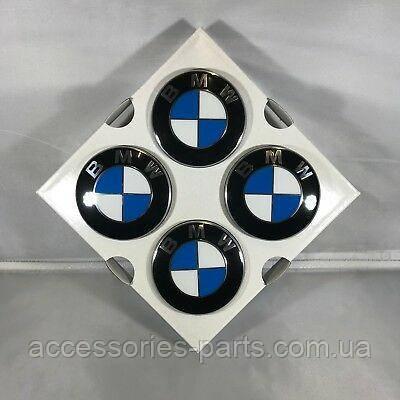 Комплект колпачков на Диски Неподвижный 65 мм BMW Новый Оригинальный