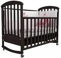 Детская кроватка Верес Соня ЛД 9 (орех)