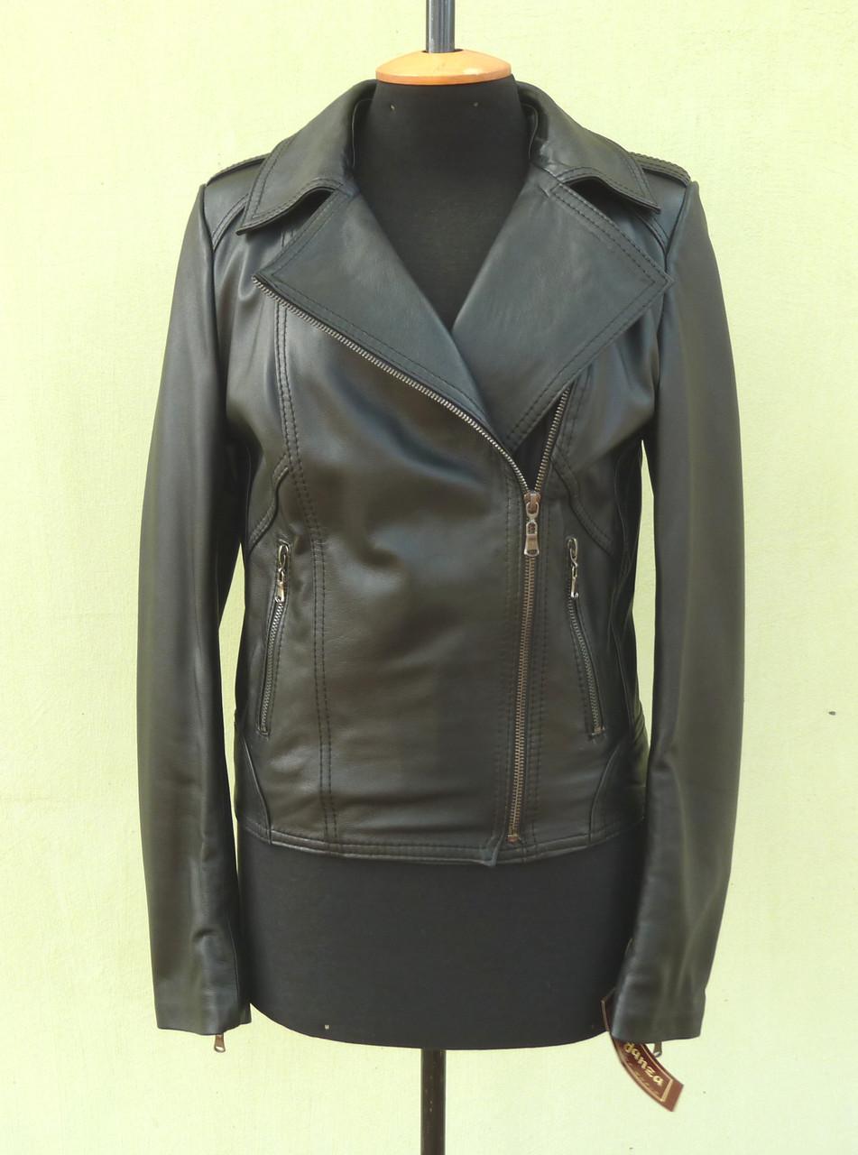 Куртка косуха кожаная женская NEVADA  размер S