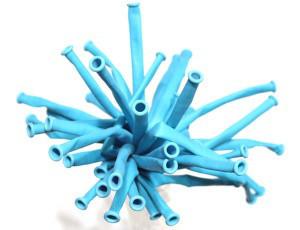 Шар Конструктор ШДМ 260 Gemar, D4, Голубой (Baby Blue) 72, 100 шт