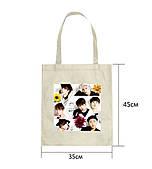 Эко-сумка с принтом BTS (1)