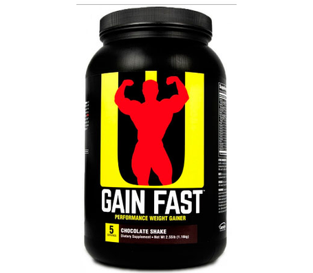 Гейнер Gain Fast Universl Nutrition 2.3 кг США, фото 2
