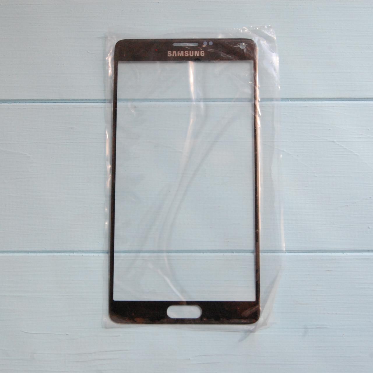 Стекло корпуса для Samsung N9100 Note 4 Black