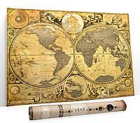My Map Special edition ENG 40х61 см, подарочный тубус, медиатр, фетр, кнопки