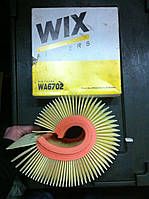 Фильтр воздушный VW Polo 1,4/1,9TDI; SKODA Fabia 1,9TDI/2,0; SEAT (220*70*213) WIX WA6702