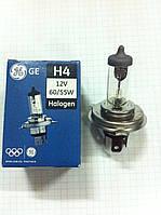 Лампа ближнего и дальнего света H4 60/55w 12v Halogen GE