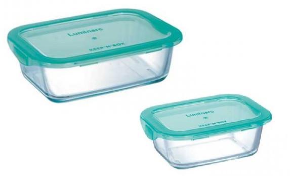 Набір контейнерів LUMINARC KEEP'N BOX, 2 шт. /380 мл 820 мл