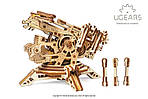 Башня-Аркбаллиста | UGEARS | Механический 3D конструктор из дерева, фото 2