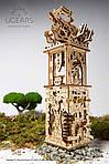 Башня-Аркбаллиста | UGEARS | Механический 3D конструктор из дерева, фото 4