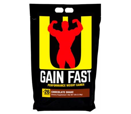 Гейнер Gain Fast Universl Nutrition 5.9 кг США, фото 2
