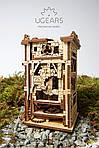 Башня-Аркбаллиста | UGEARS | Механический 3D конструктор из дерева, фото 5