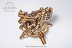 Башня-Аркбаллиста | UGEARS | Механический 3D конструктор из дерева, фото 6