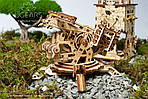 Башня-Аркбаллиста | UGEARS | Механический 3D конструктор из дерева, фото 7