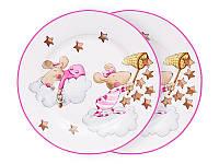 Набор из 2 тарелок Мышки Девочки 924-488
