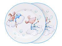 Набор из 2 тарелок Мышки Мальчики 924-489