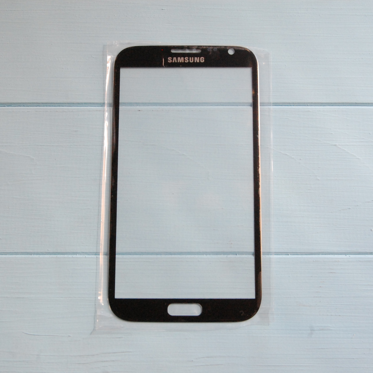Стекло корпуса для Samsung N7100 Note 2 Black