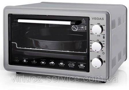 Электрическая духовка Vegas VEOC-4436G Серая, фото 2