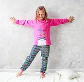 Теплая пижама для девочки Габби Киса (р.128,134)