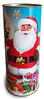 Подарочная Новогодняя упаковка - тубус наполнением до 500 грамм