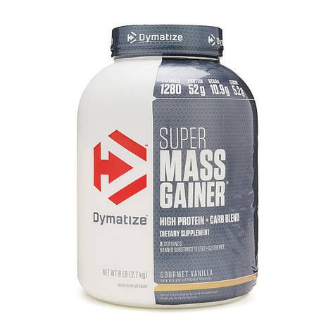 Гейнер Super Mass Gainer Dymatize 2.7 кг США, фото 2
