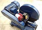 Металлорез Vorskla ПМЗ-2200/400-230 (работает от 220В). Станок отрезной по металлу Ворскла, фото 5