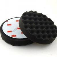 3M 09378 Perfect-It™- III - Черный поролоновый полировальный круг, многоразовый, д. 150 мм