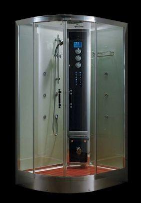 Гидромассажный бокс Grandehome WS103R/S6 правосторонний (белые задние стенки), 1200х900х2240 мм