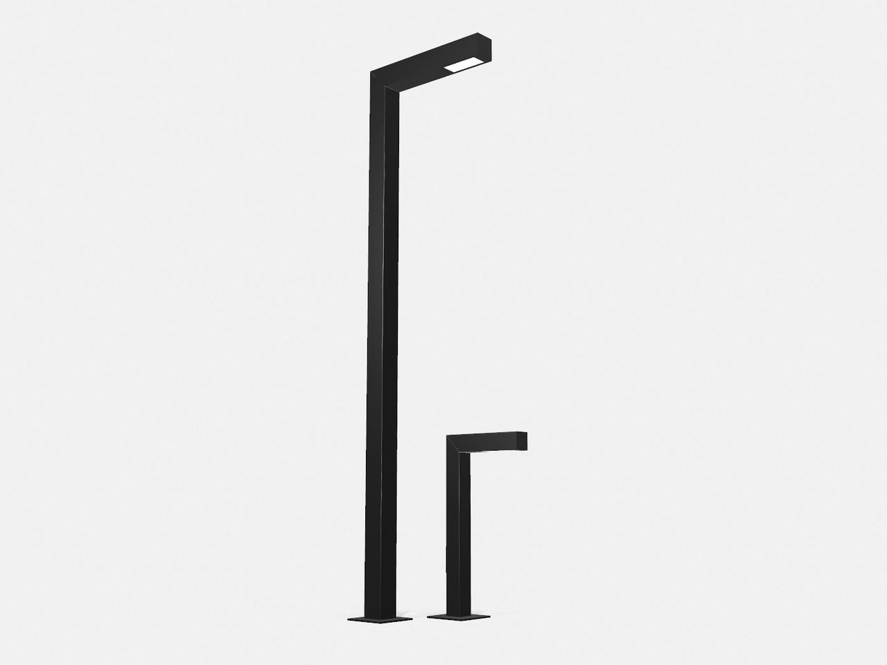 Ліхтар вуличного освітлення (металоконструкція)