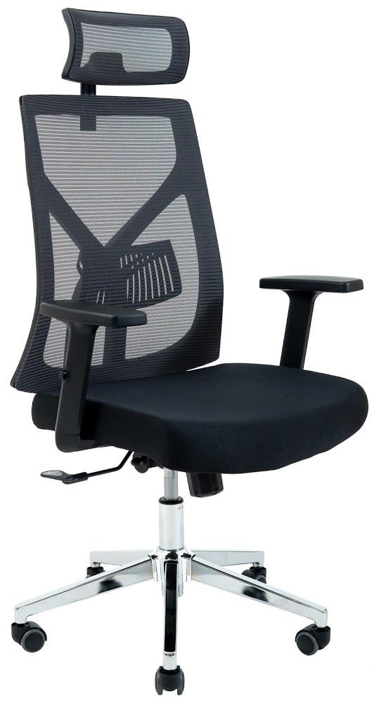 Компьютерное Кресло Электра серое