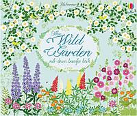 Детская книга раскраска The wild garden