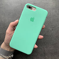 ✅ Силиконовый чехол AppleSilicone case iphone 7plus/8plus  Spearmint  РАСПРОДАЖА| SOFT TOUCH | АЛЬКАНТАРА