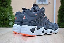 """Зимние ботинки на меху Adidas Equipment FYW S-97 """"Серые"""", фото 2"""