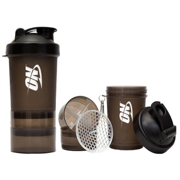 Шейкер спортивный Optimum Nutrition 3 in 1 with metal ball (600 мл)