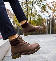"Мужские ботинки без бренда ""brown"""