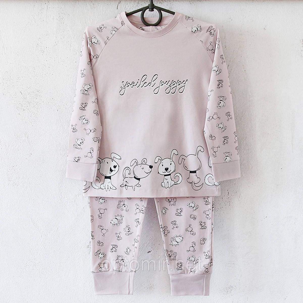 Пижама детская Donella Турция розовая для девочки на 6/7 лет | 1 шт.
