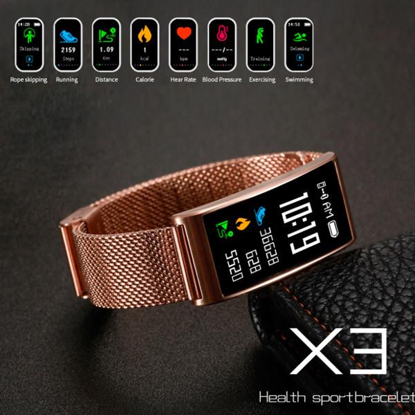UWatch Женские часы Smart MioBand Gold