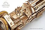 Спорткар U-9 Гран-при | UGEARS | Механический 3D конструктор из дерева, фото 4