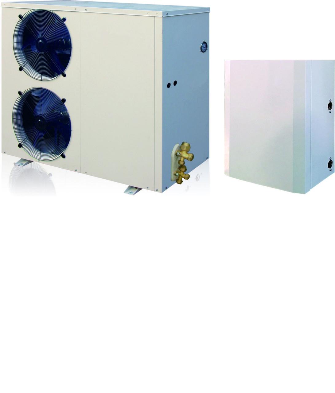 Тепловой насос инвертор TEPLOMIR EVIDC18 split воздух-вода 18,3кВт