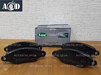Тормозные колодки передние Рено Кенго 1997-->2008 LPR (Италия) 05P662