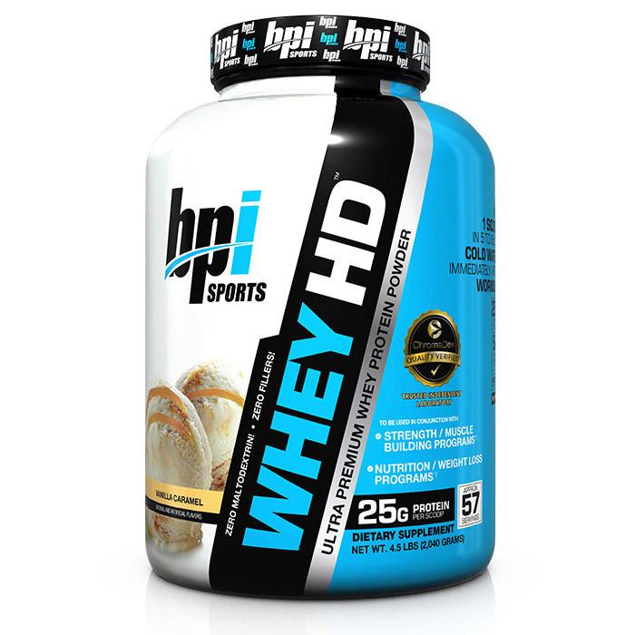 Сывороточный протеин концентрат BPI sports Whey HD (2,04 кг) бпи спортс вей vanilla caramel