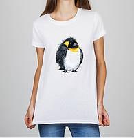 Женская футболка Push IT с принтом Пингвин