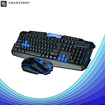 Беспроводная игровая клавиатура с мышью HK-8100 (s4), фото 2