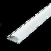 Комплект Biom профиль накладной гибкий ЛПФ-5 + рассеиватель