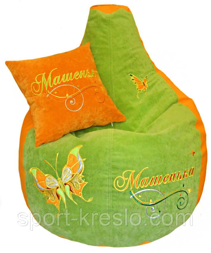 Кресло-груша детская мебель мешок пуф бескаркасный
