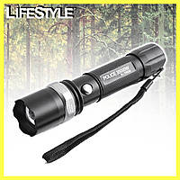 Карманный аккумуляторный фонарик Police BL 8628 XPE - 30000W, фото 1