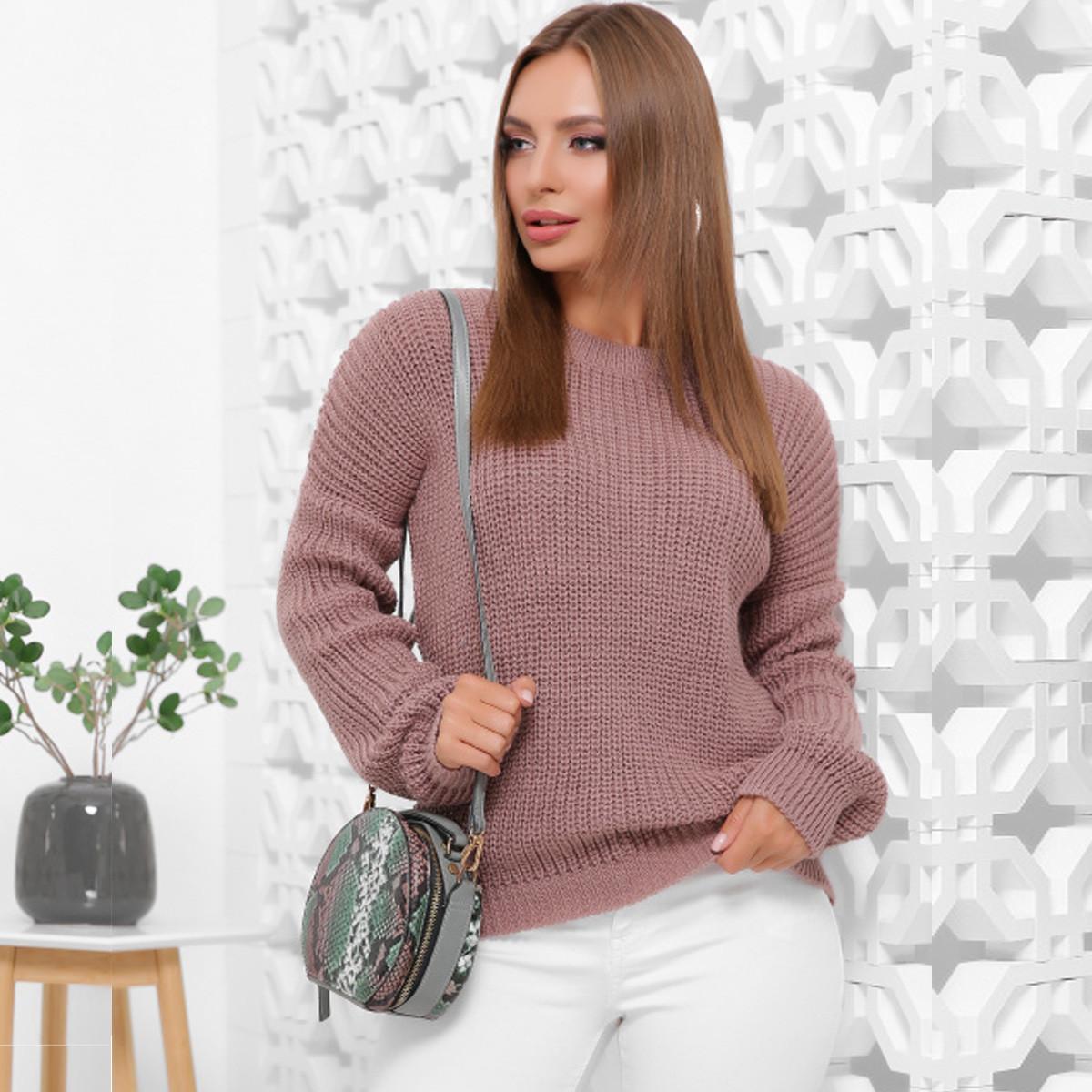 """Модный свитер оверсайз женский """"Максим"""""""