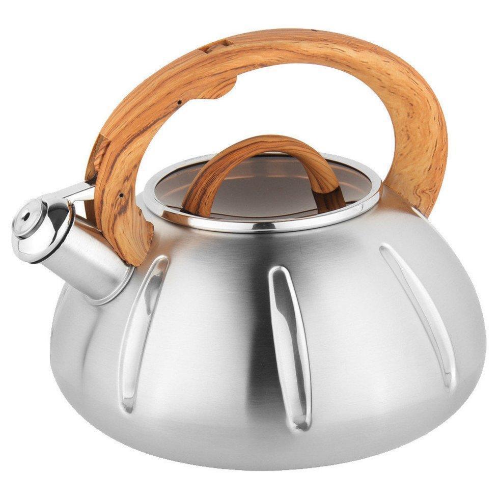 Чайник со свистком Unique UN-5303 кухонный на 3 литра
