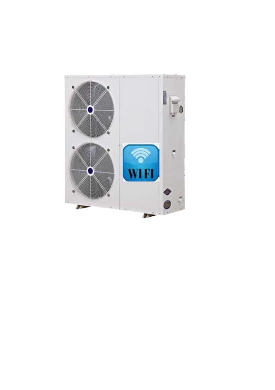 Тепловой насос инвертор TEPLOMIR TPF050DC/NE воздух-вода 18.8кВт